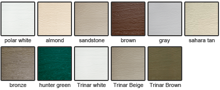 Garage door colors available pictures to pin on pinterest for Clopay garage door colors